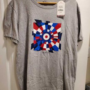 Ben Sherman Abstract Square Regular-Fit T-Shirt